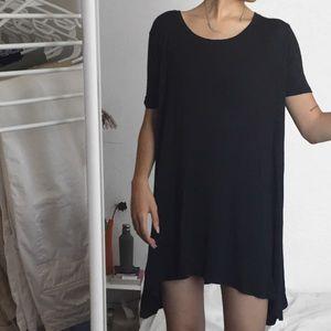 🗝 brandy charcoal t-shirt dress